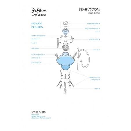 Ναργιλές Meduse Seabloom Set